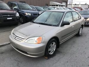 2002 Honda Civic DX AC 101000KM