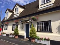 The Chequers at Pampisford are looking for enthusiastic friendly people to join our team