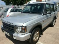 LAND ROVER DISCOVERY TD5 2003 REG 7 SEATER DIESEL SUV 4X4 4WD 12 MONTHS MOT S...