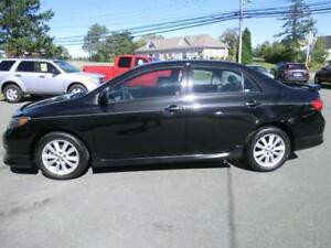 2010 Toyota Corolla S Loaded 5 spd manual 103000 kms new new