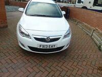 2013 Vauxhall astra Cdti 1 owner Fsh 113k