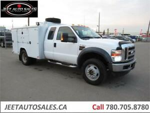 2010 Ford Super Duty F-450 DRW XLT Service Truck with VMAC