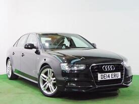 AUDI A4 S LINE 2.0 TDI 2014 MODEL GREAT VALUE + I OWNER FROM NEW +