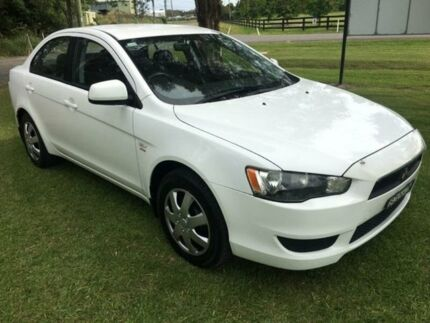 2008 Mitsubishi Lancer CJ ES White 6 Speed CVT Auto Sequential Sedan Tuggerah Wyong Area Preview