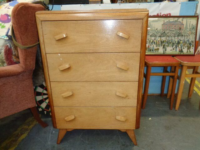 Formica topped Chest of Drawers