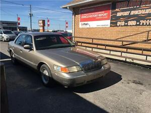 2001 Mercury Grand Marquis LS *E-TESTED*TWO SET TIRES*AS IS *