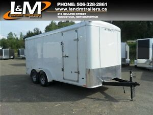 NEW 2016 STEALTH 7X16' CONTRACTOR TRAILER