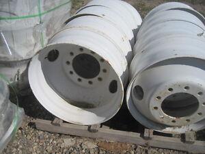 8.25x24.5 steel    8.25x22.5 aluminum wheel Regina Regina Area image 2
