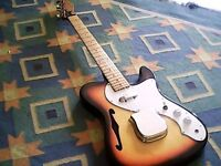 Made In Japan 70's Telecaster Thinline ' Artist '