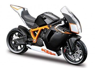 KTM 1190 RC8 R Maßstab 1:18 die cast bike model von Bburago