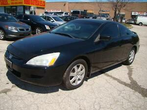 2005 HONDA ACCORD - LEATHER * SUNROOF * CERTIFY