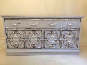 Bedroom Dresser - Ornate Detail