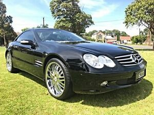 2003 Mercedes-Benz SL350 R230 Black 5 Speed Sports Automatic Roadster Somerton Park Holdfast Bay Preview