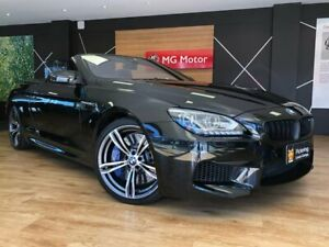 2012 BMW M6 Black Sports Automatic Dual Clutch Convertible Southport Gold Coast City Preview