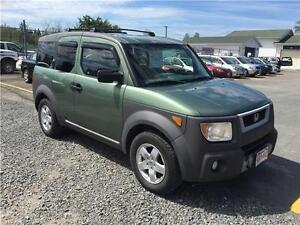 2004 Honda Element AWD $4,995.00