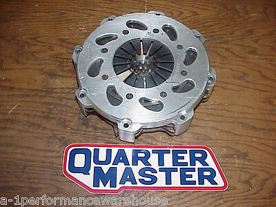"Quartermaster EVO 8 Leg 7-1/4"" Triple 3 Disc Clutch w/ NEW 10 Spline Discs IMCA"