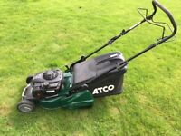 Atco 16 inch petrol mower with roller