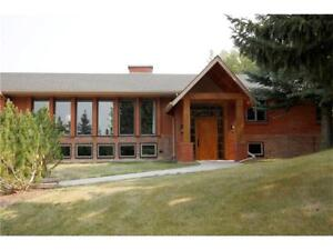 COUNTRY ACREAGE WITH PRIVATE TREED RESERVE AND INDOOR POOL
