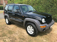 2004 Jeep Cherokee 2.5 CRD Sport - Manual - 4x4 - Lovely example