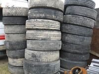 Tyres, 50 Available 285-80-22.5 & 315-80-22.5