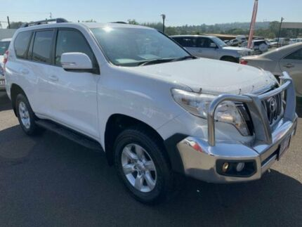 2014 Toyota Landcruiser Prado KDJ150R MY14 GXL Glacier White 5 Speed Sports Automatic Wagon Atherton Tablelands Preview