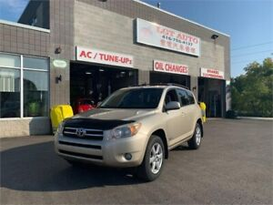 2007 Toyota RAV4 Limited, low kms! certified, 4WD