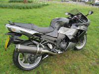 Kawasaki ZZR1400 DAF ABS SPORTS TOURING MOTORCYCLE