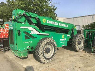 2014 Skytrak 6042 4x4 6000 Lb Telehandler Telescopic Reach Forklift 3032