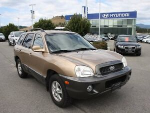 2003 Hyundai Santa Fe GLS All-wheel Drive