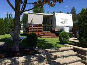For Sale! Lot & Trailer Christina Lakeside Resort