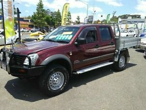 2006 Holden Rodeo RA MY06 LX Crew Cab Maroon Manual Utility Greenslopes Brisbane South West Preview