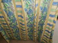 Six curtains for sale all 64 inch drop.