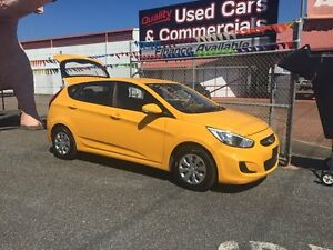 2015 Hyundai Accent Yellow 4 Speed Auto Active Select Hatchback Winnellie Darwin City Preview