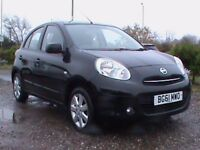 NISSAN MICRA 1.2 ACENTA 5 DR AUTOMATIC BLACK CLICK ON VIDEO LINK TO SEE MORE OF THIS VEHICLE