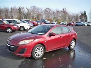 WINTER READY! WINTER TIRES ON!!! 2010 Mazda Mazda3! ONLY $3900