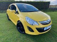2011 Vauxhall Corsa 1.2 Limited Edition 3 Door - Petrol - Manual - Yellow