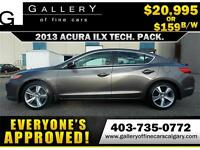 2013 Acura ILX TECH PACK $189 bi-weekly APPLY NOW DRIVE NOW