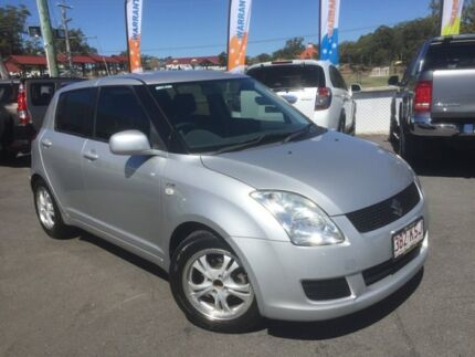 2007 Suzuki Swift EZ Silver 5 Speed Manual Hatchback Southport Gold Coast City Preview