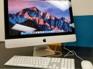 iMac 21, i5 quad,8GB,500GB, High Sierra