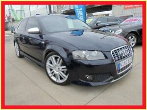 2007 Audi S3 8P Blue 6 Speed Manual Hatchback Holroyd Parramatta Area Preview