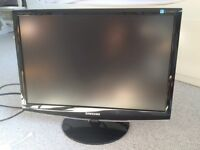 Samsung 22-inch Widescreen Monitor - Gloss Black