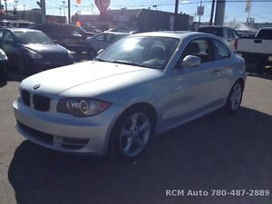 VERY LOW KM 2010 BMW 128i COUPE - CALL/TEXT 780-619-4548