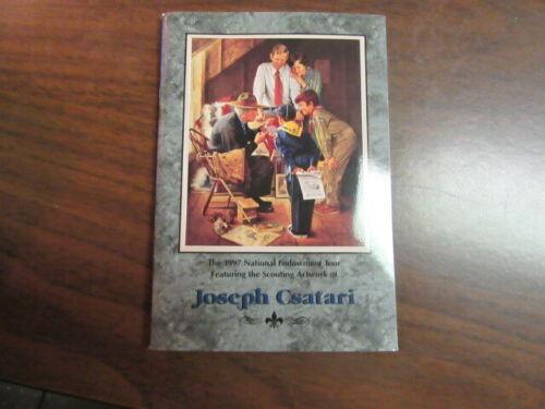 1997 Joe Csatari Scout Art Tour Book, Signed by Csatari    mb