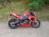 2009 Buell 1125 cr in red only done 6714 miles very rare part exchange considered