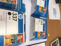 boxed original HP 343 & 337 price is each