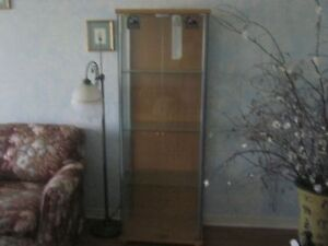 glass shelving unit Peterborough Peterborough Area image 1