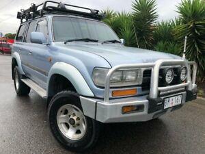 1994 Toyota Landcruiser FZJ80 Blue Marlin (4x4) Blue 4 Speed Automatic 4x4 Wagon