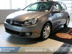 2011 Volkswagen Golf TDI HIGHLINE-NAVIGATION SUNROOF LEATHER