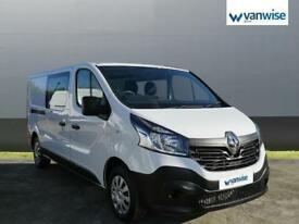 2017 Renault Trafic LL29 dCi 120 Business Van Diesel white Manual