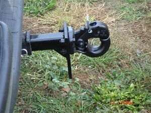 Pintle Hitch with Receiver Shank